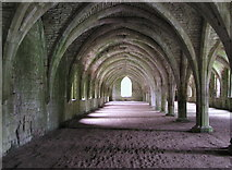 SE2768 : Inside Fountains Abbey by Andy Beecroft