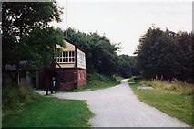 SK1461 : Hartington Signal Box and the Tissington Trail. by Janine Forbes