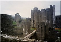 ST1587 : Caerphilly Castle by Janine Forbes
