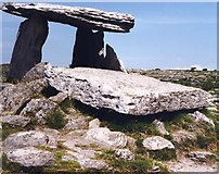 M2300 : Poulnabrone Megalithic Tomb by Anne Burgess