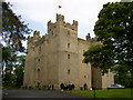 NY8362 : Langley Castle by Ken Brown