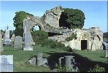 NJ0661 : Kinloss Abbey by Anne Burgess
