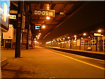 SU5290 : Didcot Parkway Station by Claire Ward