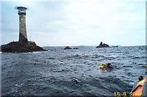 SW3125 : Longships lighthouse by Richard Knights