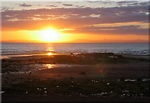 NT4377 : Sunset from Longniddry Bents. by Richard Webb
