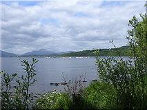 NS3882 : Ben Lomond from Loch Lomond Shores, Balloch by Val Vannet