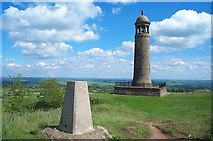 SK3455 : Crich Stand by Garth Newton
