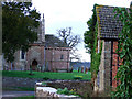 SO4430 : Kilpeck village cottage and church by Ruth Harris