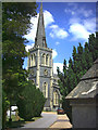 TQ2471 : St. Mary's Church, St. Mary's Road, Wimbledon. by Noel Foster
