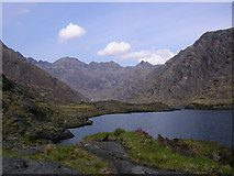 NG4820 : Loch Coruisk, Skye by Sheila Russell