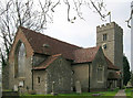 TL4308 : Church of St. Mary the Virgin, Great Parndon, Harlow, Essex by Patrick Lee