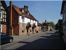 TQ4223 : The Griffin Inn at Fletching by Nigel Freeman
