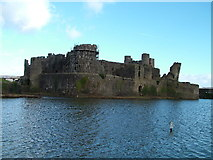ST1587 : Caerphilly Castle by johngriffiths