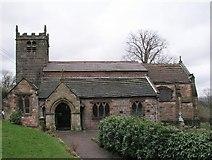 SJ9253 : St Luke's Church, Endon by Alan Fleming