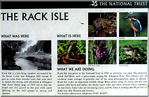 SP1106 : National Trust: Rack Isle- History by Pam Brophy