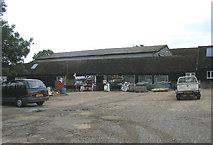 TQ5784 : Farm Shop, North Ockendon, Essex by John Winfield