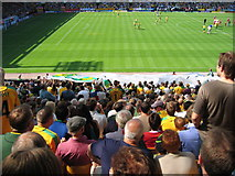 TG2407 : Carrow Road Football ground by Jim Taylor