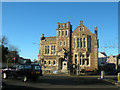 SW6439 : Camborne Library And Richard Trevithick Statue by Joe Pritchard