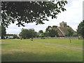 TQ5193 : Village Green, Havering-atte-Bower, Romford, Essex by John Winfield