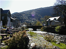 SH5848 : Beddgelert by Dot Potter