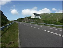 NM7582 : Our Lady of the Braes Church at Polnish by J M Briscoe