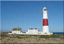 SY6768 : Portland Bill Lighthouse by Pete Chapman