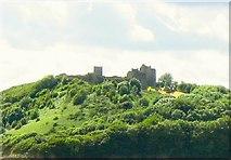 SN3510 : Llansteffan Castle by Nigel Davies
