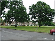 TQ2837 : Open Space in Residential Area of Three Bridges, Crawley, West Sussex by Pete Chapman