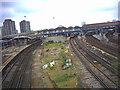 TQ2775 : Clapham Junction Railway Station. by Noel Foster