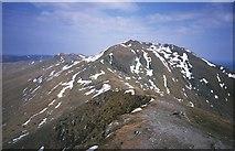 NN6240 : Ben Lawers from Beinn Ghlas by Richard Webb