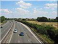 SU9977 : M4 Motorway, between Datchet and Langley by Darren Smith
