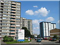 TQ0178 : Longwood Park Flats, Common Road, Langley by Darren Smith