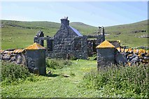 NL5682 : Old School house Mingulay by Paul Store