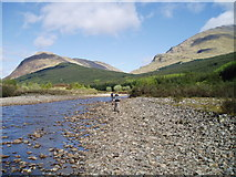 NN2327 : The river Lochy by Kevin Rae