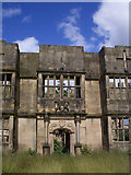 NZ1758 : The ruined Gibside Hall by Clive Nicholson