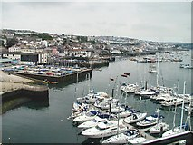 SW8132 : Quays at Falmouth by Chris J Dixon