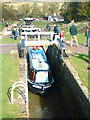 SP6989 : Foxton Staircase Locks by Peter Latham