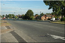 SJ6489 : Junction along Manchester Road, Woolston by andy
