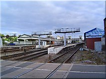 SX9193 : Exeter Railway Station by Richard Knights