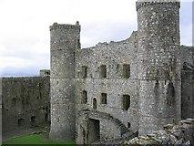 SH5831 : Harlech Castle by Dave Smethurst