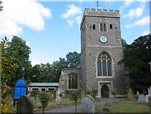 TQ0487 : St Mary The Virgin Church Denham Village by Jack Hill