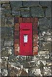 SK3750 : G R Wall Post Box by Rob Bradford