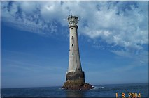 SV8006 : Bishop Rock lighthouse - Isles of Scilly by Richard Knights