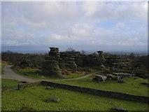 SE2065 : Brimham Rocks by DS Pugh