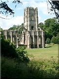 SE2768 : Fountains Abbey by Mike and Kirsty Grundy