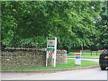 SP2408 : Burford - Four Oaks by John Nickolls