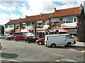 SE1137 : Parade of shops in Cottingley by David Spencer