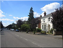 SP3265 : Russell Terrace, Royal Leamington Spa by David Stowell