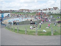 TQ2704 : Children's Play area by Nigel Freeman