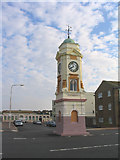 TQ7307 : The Clocktower, West Parade, Bexhill, Sussex by John Winfield